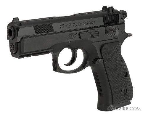 Pistola Co2 Asg Cz75d Compact Gas Comp 4,5 - Local Palermo 1