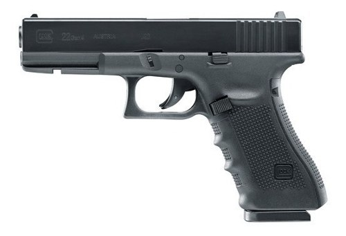 Pistola Glock 22 Co2 4,5mm + 1500 Bbs + 5 Co2 Local Palermo 2