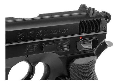 Pistola Co2 Asg Cz75d Compact Gas Comp 4,5 - Local Palermo 4