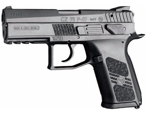 Pistola Co2 Asg Cz75 P07 Duty Blow Back 4,5mm Local Palermo 6
