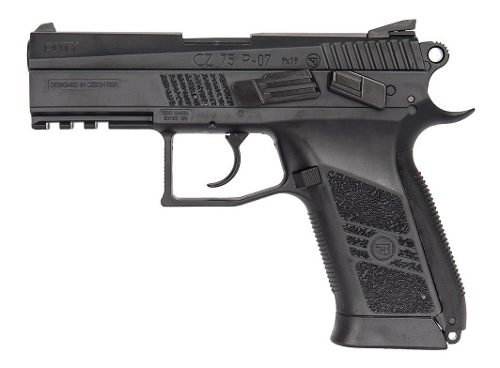 Pistola Co2 Asg Cz75 P07 Duty Blow Back 4,5mm Local Palermo 1