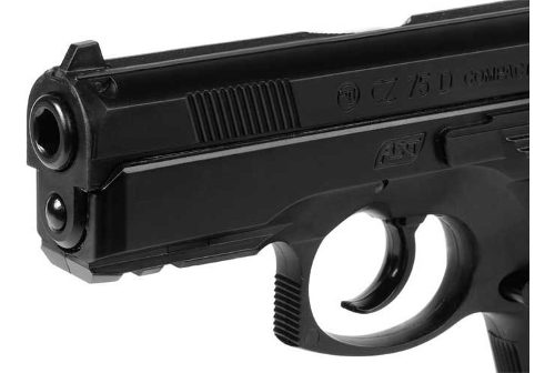 Pistola Co2 Asg Cz75d Compact Gas Comp 4,5 - Local Palermo 5