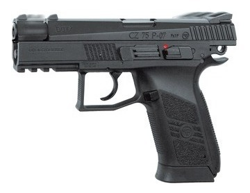 Pistola Co2 Asg Cz75 P07 Duty Blow Back 4,5mm Local Palermo 2