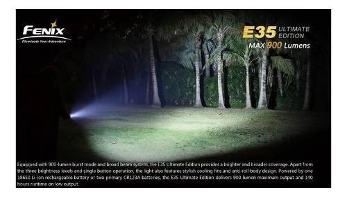 Linterna Fenix E35 Ue 1000 Lumens Sumergible - Local Palermo 4