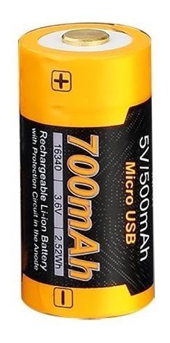 Bateria Pila Recargable Fenix 16340 700mah 3.6v - En Palermo 4