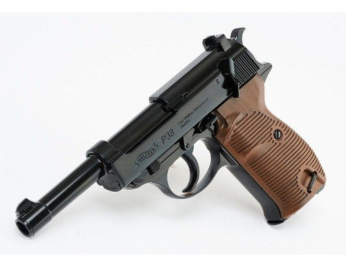 Pistola Co2 Walther P38 Blowback Full Metal Local Palermo 3
