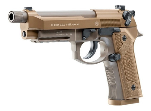 Pistola Co2 Beretta M9a3 Umarex Blowback Gas - Local Palermo 2