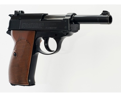 Pistola Co2 Walther P38 Blowback Full Metal Local Palermo 7