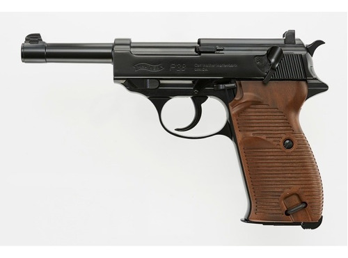 Pistola Co2 Walther P38 Blowback Full Metal Local Palermo 4
