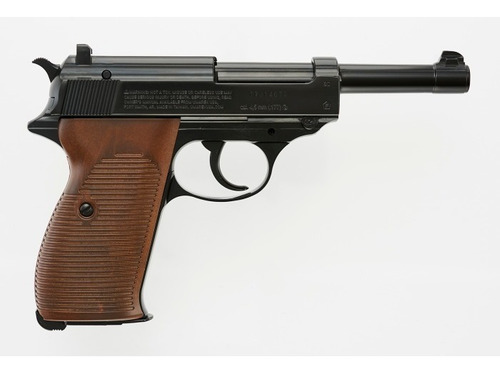 Pistola Co2 Walther P38 Blowback Full Metal Local Palermo 6