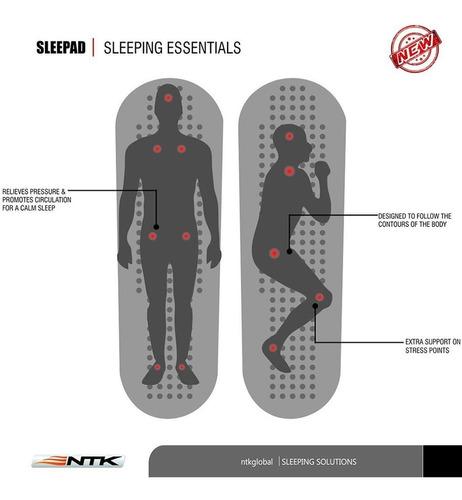 Colchoneta Inflable Ntk Sleepad Ultralight Aislante -palermo 7