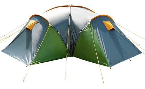 Carpa 6 Personas Waterdog Nature Pro 3 Dormit -local Palermo 3